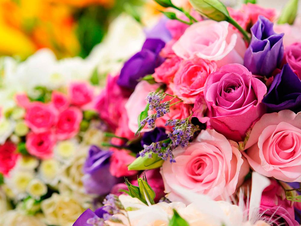 Цветочный интернет-магазин, букет цветов