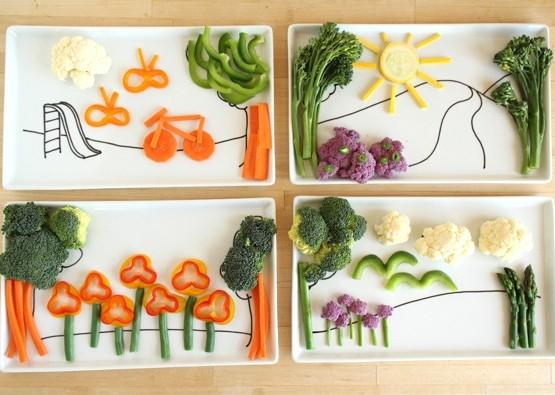 Поделки для детей еда